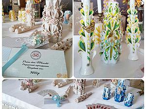 Резные свечи TTCandle -  партнер свадебной школы Wedschool | Ярмарка Мастеров - ручная работа, handmade