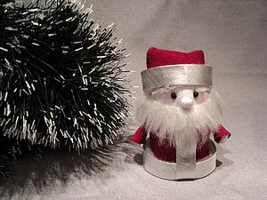 Мастерим маленького Дедушку Мороза | Ярмарка Мастеров - ручная работа, handmade