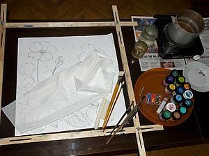 Как сделать эскиз для батика, если вы не уверены в своих художественных талантах. Ярмарка Мастеров - ручная работа, handmade.