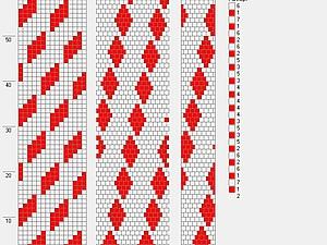 Как читать схему для вязания жгута из бисера. Ярмарка Мастеров - ручная работа, handmade.