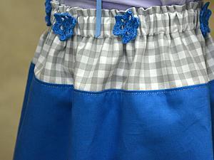 Шьем юбку-татьянку с кружевом. Ярмарка Мастеров - ручная работа, handmade.