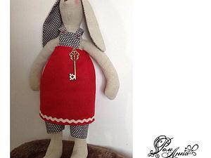Шьем зайчика в стиле Тильда. Ярмарка Мастеров - ручная работа, handmade.