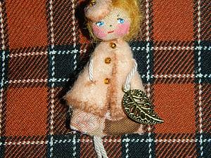Брошь Куколка.... Осенний вариант | Ярмарка Мастеров - ручная работа, handmade