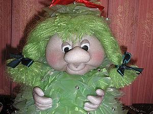 Изготовление Куклы-елочки. Ярмарка Мастеров - ручная работа, handmade.