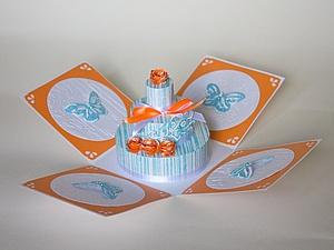 Распродажа: открытки, коробочка, блокнот, шкатулка со скидкой 50% | Ярмарка Мастеров - ручная работа, handmade
