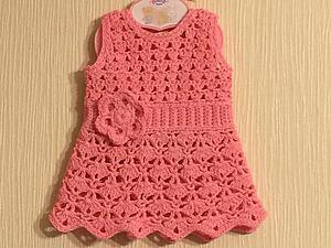 Вяжем платье для Baby Born. Ярмарка Мастеров - ручная работа, handmade.
