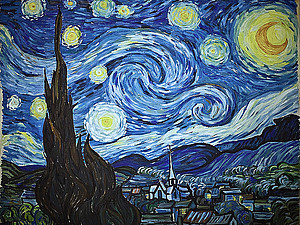 Копия с картины Ван Гога