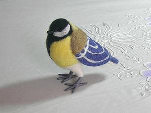 Синица в руках | Ярмарка Мастеров - ручная работа, handmade