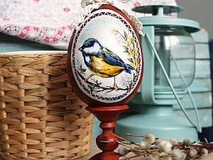 Декорирование и роспись пасхального яйца | Ярмарка Мастеров - ручная работа, handmade