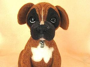 Боксер тигрового окраса, новая собака в моем магазине! | Ярмарка Мастеров - ручная работа, handmade