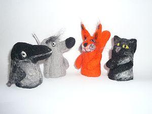 Валяние пальчиковых игрушек | Ярмарка Мастеров - ручная работа, handmade