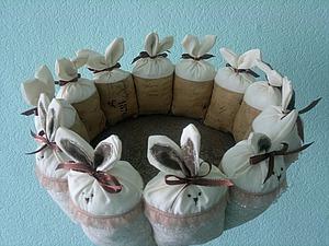 Шьем милую пасхальную корзину. Ярмарка Мастеров - ручная работа, handmade.