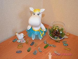 Мастер-класс по игрушке подружка Муми-Тролля | Ярмарка Мастеров - ручная работа, handmade