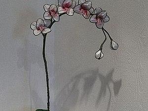 Мастер-класс: орхидея в технике ганутель. Ярмарка Мастеров - ручная работа, handmade.