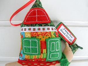Шьем новогоднюю тильда-улитку