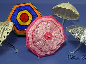 зонтик для игрушек | Ярмарка Мастеров - ручная работа, handmade