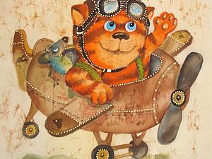 Ура! Моя Картина-работа Дня!!! | Ярмарка Мастеров - ручная работа, handmade