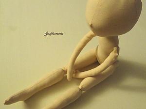 Основа текстильной куклы(часть третья) | Ярмарка Мастеров - ручная работа, handmade