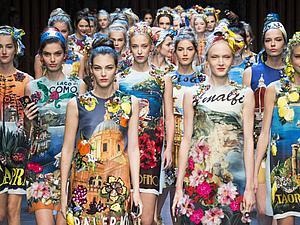 «Виват, лето! Виват, рукоделие!»: феерия красок и обилие декоративных элементов в коллекции Dolche&Gabbana 2016. Ярмарка Мастеров - ручная работа, handmade.