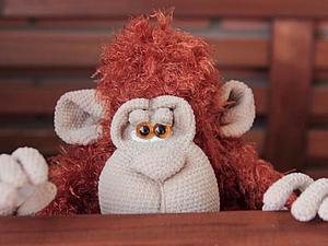 орангутан Гунечка, очаровательный шкодник | Ярмарка Мастеров - ручная работа, handmade