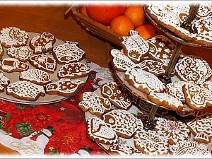Имбирное печенье как из Икеи,но с оригинальной декорацией)   Ярмарка Мастеров - ручная работа, handmade