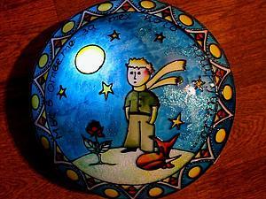 Рисуем с детьми: ночник с изображением Маленького принца. Ярмарка Мастеров - ручная работа, handmade.