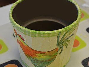 Цветочный горшок в пасхальной теме. Ярмарка Мастеров - ручная работа, handmade.
