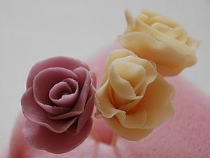 Роза из мастики | Ярмарка Мастеров - ручная работа, handmade