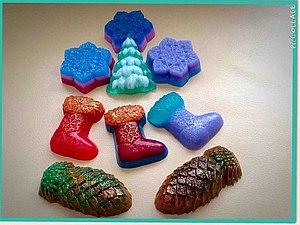 Мастер-класс  по Мыловарению Новогоднее Мыло | Ярмарка Мастеров - ручная работа, handmade