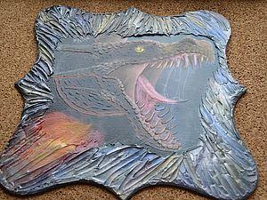 Создаем панно «Дракон». Ярмарка Мастеров - ручная работа, handmade.