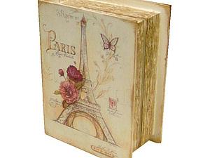 Старинная книга в коже | Ярмарка Мастеров - ручная работа, handmade