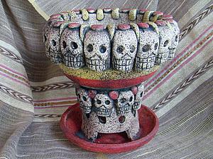 Состариваем изделие из глины. Ярмарка Мастеров - ручная работа, handmade.