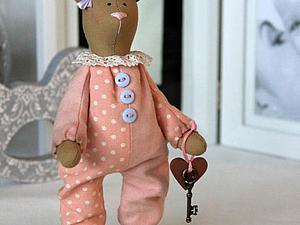 Секреты создания текстильной игрушки ( зайки, мишки) | Ярмарка Мастеров - ручная работа, handmade