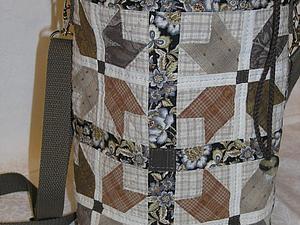 """""""Осень. Листья желтеют. Тепло"""": шьем лоскутную сумку-торбу. Ярмарка Мастеров - ручная работа, handmade."""