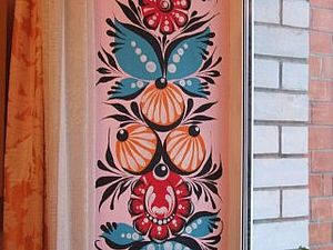 Видеоурок по росписи: «Петушок». Ярмарка Мастеров - ручная работа, handmade.