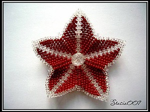 Плетем из бисера прекрасную лилию. Ярмарка Мастеров - ручная работа, handmade.