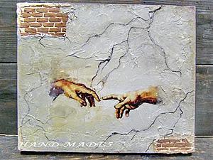 Декупаж + Имитация Фрески! | Ярмарка Мастеров - ручная работа, handmade