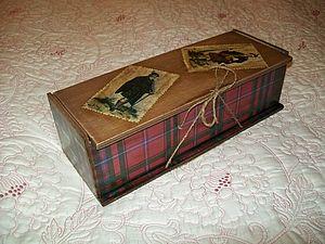 Мастерим старинный короб для бутылки | Ярмарка Мастеров - ручная работа, handmade