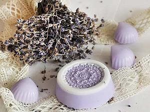 Создаем мыло «Нежная лаванда». Ярмарка Мастеров - ручная работа, handmade.