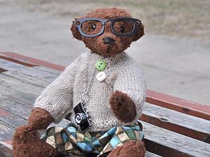 Очень любознательный медвежонок ищет маму. NEW Taddy | Ярмарка Мастеров - ручная работа, handmade