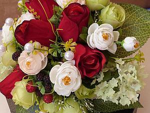 Свадебный букет | Ярмарка Мастеров - ручная работа, handmade