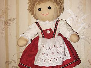 Реставрация тряпичной куклы. Ярмарка Мастеров - ручная работа, handmade.