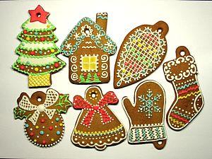 Мастер-класс по Росписи Традиционного Рождественского Печенья (Козуль). | Ярмарка Мастеров - ручная работа, handmade