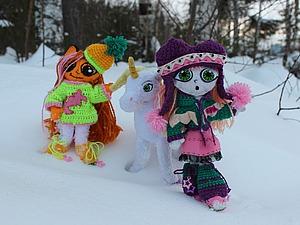 Шьем авторскую игровую куклу для детей из фетра. Ярмарка Мастеров - ручная работа, handmade.