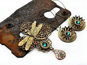 Как правильно ухаживать за украшениями из патинированной латуни. | Ярмарка Мастеров - ручная работа, handmade