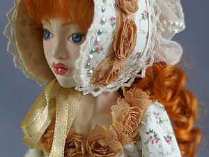 Завивка волос куклы.. Ярмарка Мастеров - ручная работа, handmade.