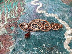 Войлок и медь | Ярмарка Мастеров - ручная работа, handmade