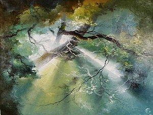 Лесной грааль света Petras Lukosius | Ярмарка Мастеров - ручная работа, handmade