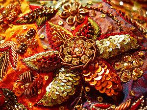 Древнее искусство вышивки Зардози. Ярмарка Мастеров - ручная работа, handmade.