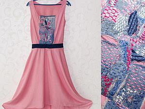 Штопка или заплатки? Реставрация платья в технике «boro», или Наш ответ Японии. Ярмарка Мастеров - ручная работа, handmade.